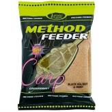 Zanęta Lorpio Method Feeder - Black Halibut&Hemp 700g