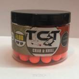 Kulki pływające TCT Pop up - Crab & Krill 15/12mm