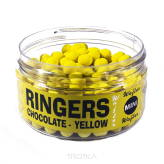 Dumbells Ringers 4,5mm Mini Wafters Yellow - Chocolate