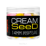Washed Pop Ups Munch Baits - Cream Seed - 14mm