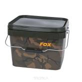 Wiadro FOX Camo Square Bucket 10l