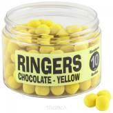 Dumbells Ringers 6mm Wafters Chocolate - Yellow