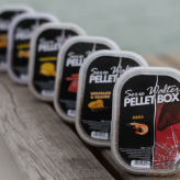 Pellet Maros-Mix Method Box Serie Walter + Liquid - Halibut