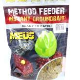 Zanęta Meus Method Feeder Instant Ready 700g - Ananas