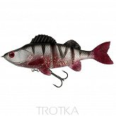 Guma D.A.M Effzett Natural Perch 14cm 35g -  Silver Perch