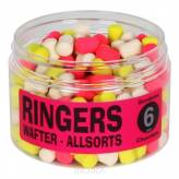 Dumbells Ringers Allsorts Wafters 6mm - Chocolate