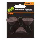 Backleads FOX Downrigger 43g - 3szt.