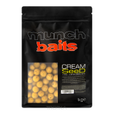 Kulki zanętowe Munch Baits - Cream Seed 1kg - 18mm